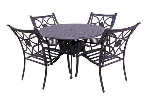 Lecornu Dining Tables Best Of Backyard Harmony Collection 4 Dining Chairs And Le Terrace 42 Table