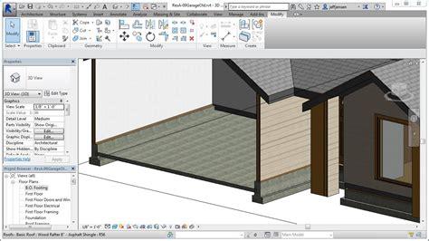 revit garage tutorial jensen s revit tutorial residential house 09 garage