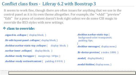 liferay layout bootstrap bootstrap with liferay