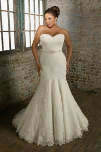 Mermaid wedding dresses for plus women collection