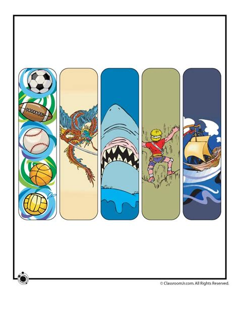 printable summer bookmarks printable summer bookmarks for boys woo jr kids activities