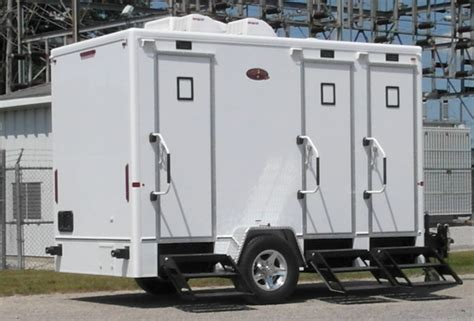Trailer Bathroom Rental by Oconee Events Portable Restroom Trailer In Athens