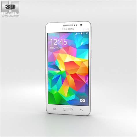 samsung galaxy grand prime 3d themes samsung galaxy grand prime white 3d model hum3d