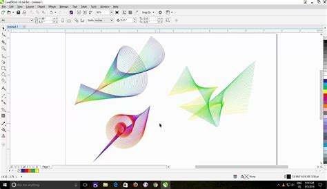blend tool in coreldraw x5 using the print preview as an advantage in coreldraw