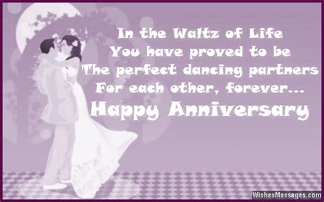 Wedding Anniversary Message For Husband Away by Anniversary Wishes For Couples Wedding Anniversary Quotes