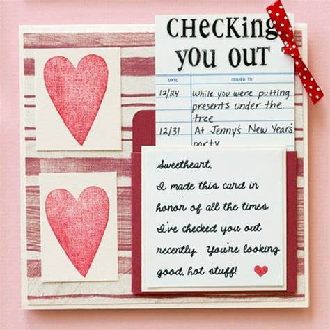 what to put on a valentines card 32 ideas for handmade s day card interior