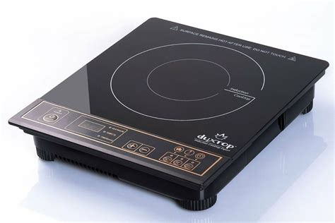 Burner Portable Cooktop by New Duxtop 1800 Watt Portable Induction Cooktop Countertop