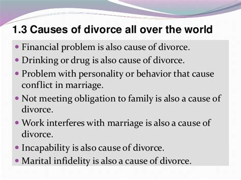 7 Reasons To Get A Divorce by Divorce Causes