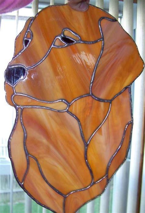 golden retriever stained glass pattern golden retriever stained glass glass glass animals and