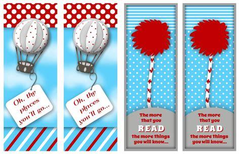 free printable lorax bookmarks free dr suess printables free dr seuss bookmarks