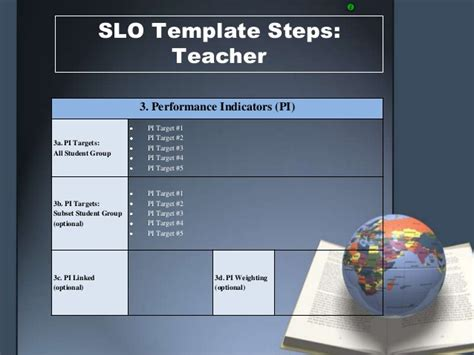 slo template slo template steps 1 2 3
