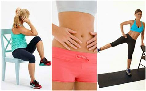 chair exercises  reduce abdominal fat instantly