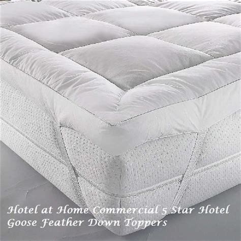 hot sale luxurious cheap goose feather hotel bed pillow luxury goose feather down topper as used in some sofitel