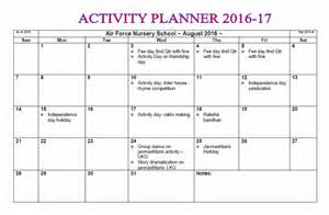 Calendar 2018 Rh Gh Activity Planner Nursery School
