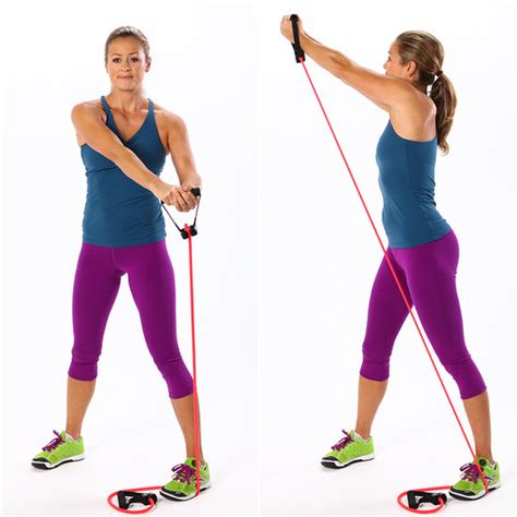 exercises to do with resistance bands popsugar fitness