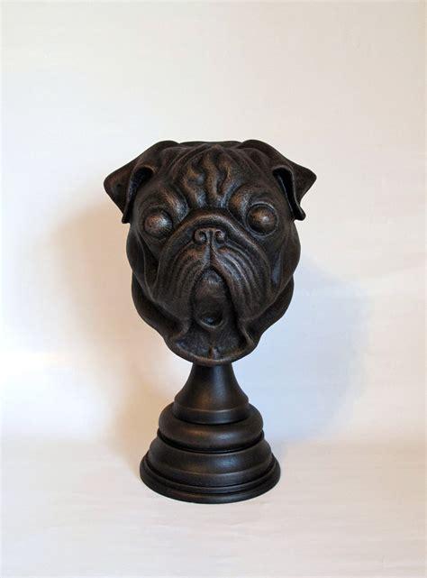 pug statues size pug statue by thomasotom on deviantart