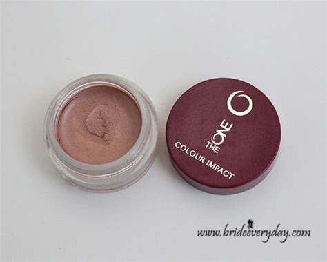 Eyeshadow The One Oriflame oriflame the one colour impact eye shadow gold review swatch