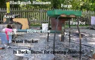 Build A Simple Fire Pit - how to make an easy blacksmith forge