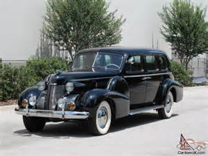 1939 Cadillac Limo Classic 1939 Cadillac Fleetwood 75 Limousine Restored
