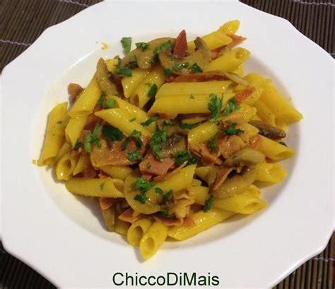cucinare i carciofi giallo zafferano pasta con zafferano funghi e speck ricetta primo