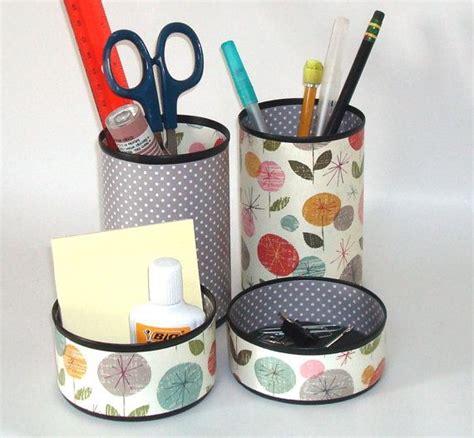 whimsical desk accessories whimsical floral desk accessory set pencil holder pencil