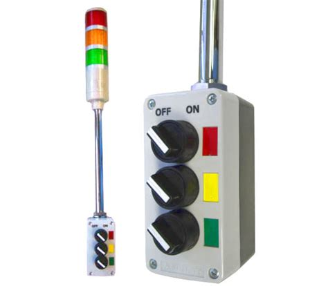 tower light with buzzer image gallery lean andon