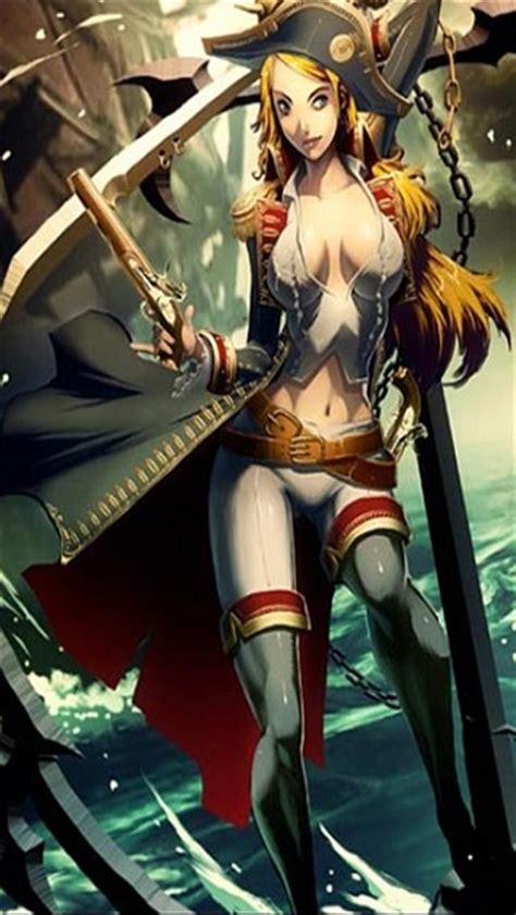 anime girl pirate wallpaper sexy female pirate anime hot girls wallpaper