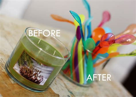 how to get wax out of a candle how to remove candle wax from glass containers aunt peaches