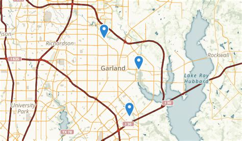 map garland texas best trails near garland texas alltrails