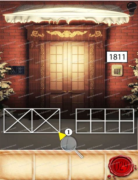 100 Doors Seasons | 100 doors seasons part 1 level 29 game solver