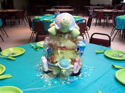 Turtles Baby Shower Theme by Baby Shower Cakes Theme Turtle Themed Cake