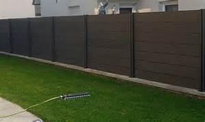 prix cloture bois cl 244 ture bois composite prix m2 cmarteau