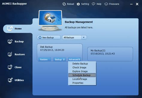 best free backup utility best free backup software for windows 8 and 8 1 aomei back