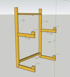 building a kayak storage rack opinions on this design