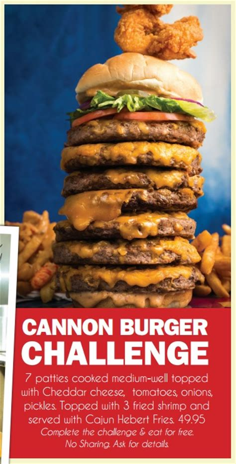 A New Cooking Challenge 2 by Bobby Hebert S Cajun Cannon Burger Challenge