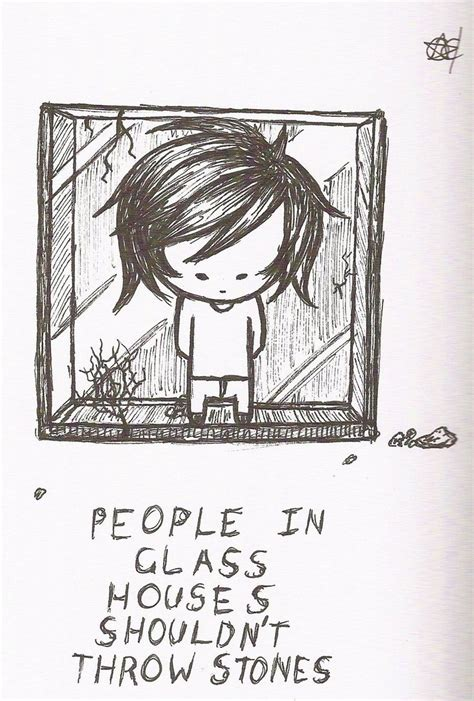 People In Glass Houses Shouldn T Throw Stones By Enigmar On Deviantart