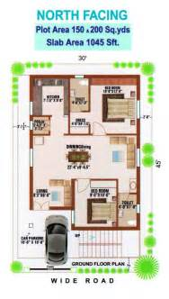 North Facing Floor Plans Per Vastu house plan for 700 sq ft east facing