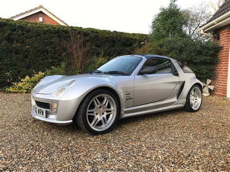 smart car roadster for sale used 2006 smart car roadster brabus for sale in norwich