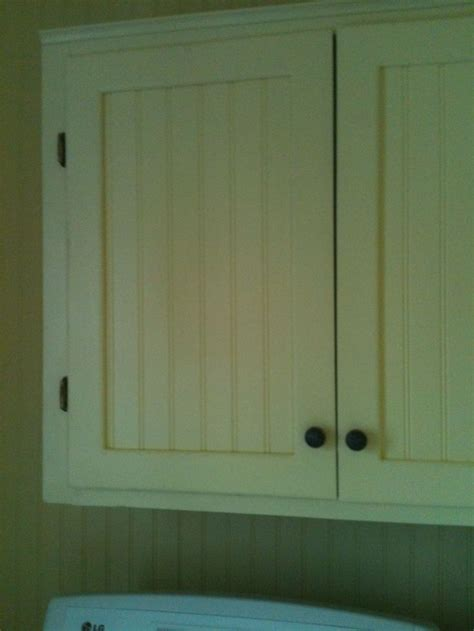 We Used The Old Cabinet Doors But Cut Out The Middle And Used Cabinet Doors