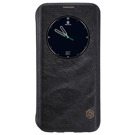 Flip Nillkin Samsung Galaxy S7 Qin Series samsung galaxy s7 edge nillkin qin series flip fodral svart