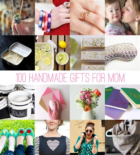 gift idea for mom 100 handmade gifts for mom