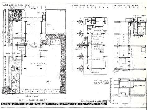 lovell beach house plans lovell beach house floor plan house and home design