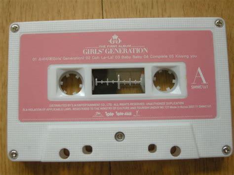 ebay jace0337 1st album cassette tape girls generation soshi