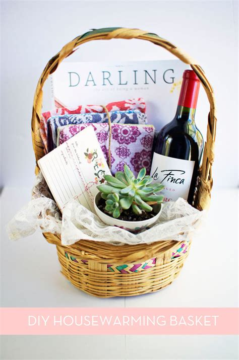 small housewarming gift how to make the perfect diy housewarming basket 187 curbly