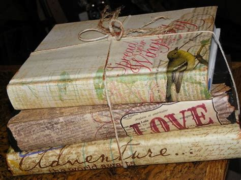 Decoupage Books - ruby slippered sisterhood 187 decoupage books
