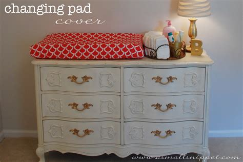 Changing Table Pad Cover Pattern Diy Changing Pad Cover A Small Snippet