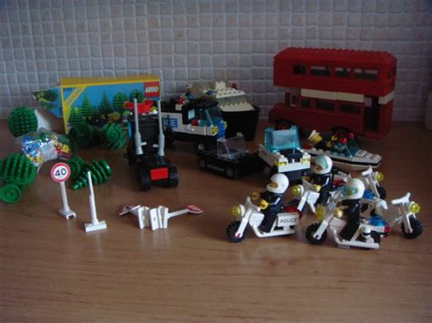 lego dubbeldekker politie boot motor auto en extra - Lego Boot Met Motor