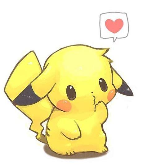 Imagenes Kawaiis De Picachu | pikachu kawaii dibujos para dibujar colorear imprimir