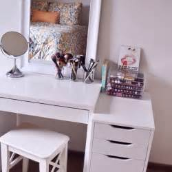 Vanity Dressing Table Ikea 52 Id 233 Es De Rangement Make Up En Photos Et Vid 233 Os