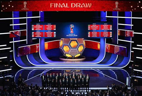 world cup 2018 draw of the fifa world cup 2018 in russia 183 russia